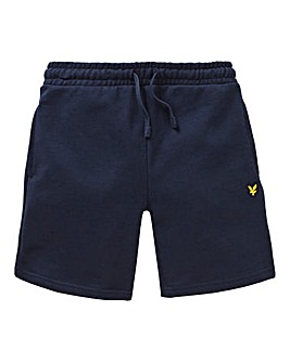 Lyle & Scott Boys Navy Sweat Shorts