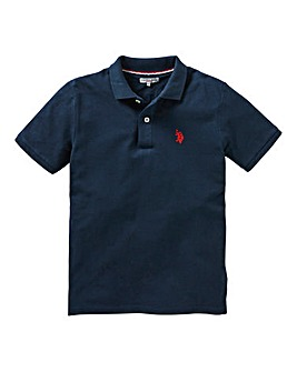 U.S. Polo Assn. Boys Navy Core Polo