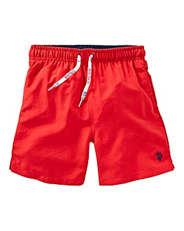 U.S. Polo Assn. Boys Core Swimshorts