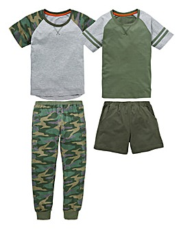 KD Older Boys Pack of Two Pyjamas