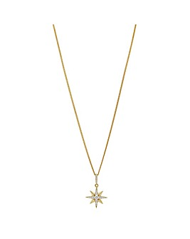 Simply Silver Star Pendant Necklace
