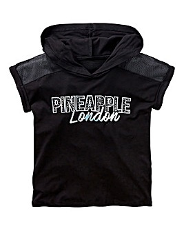 Pineapple Girls Hooded Top