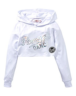 Pineapple Girls Cropped Hoodie