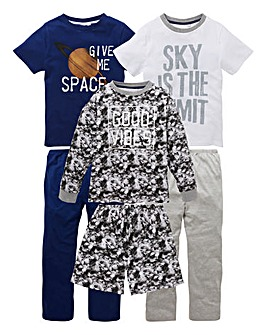 Older Boys Pack of Three Pyjamas