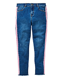 KD Girls Fashion Tape Skinny Jeans