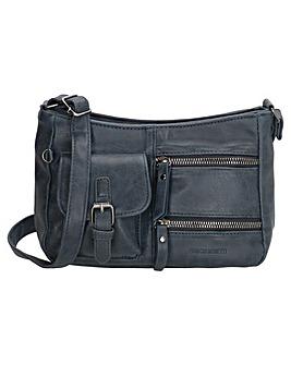Enrico Benetti Zoe Single Handle Faux Leather Shoulderbag