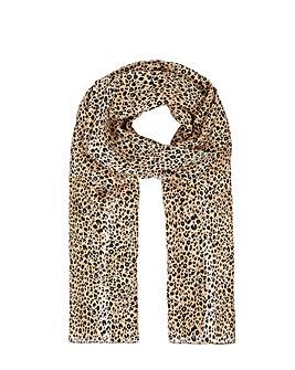 Accessorize Leopard Print Silk Classic