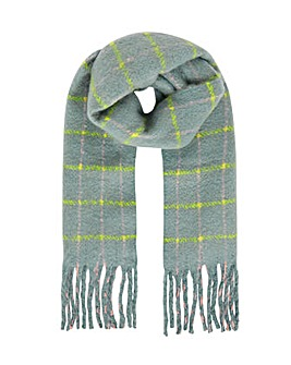 Accessorize Sophie Brushed Check Blanket