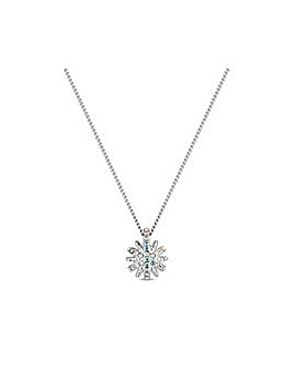 Aurora Borealis Starburst Necklace