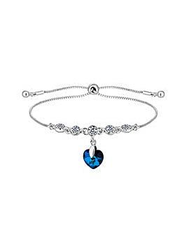 Silver Plated Bermuda Toggle Bracelet