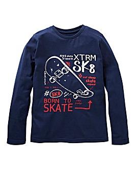 KD Boys Long Sleeve Skateboard T-Shirt