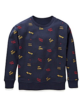 KD Boys Graffiti Sweatshirt