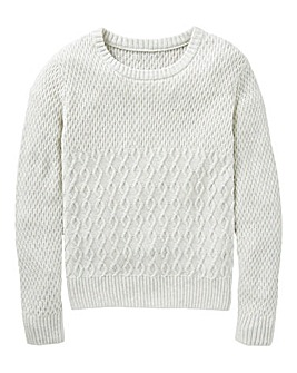 KD Boys Cable Knit Jumper