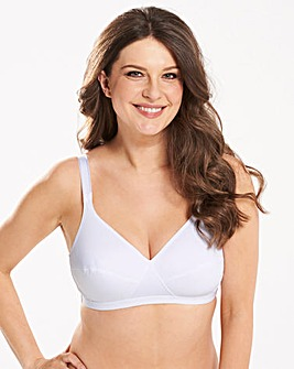 Playtex 2Pack White/White Support Comfort Bras