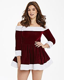 Ann Summers Sexy Miss Santa Red Dress