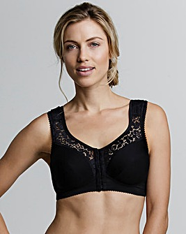 Miss Mary F/Fastening Black Bra