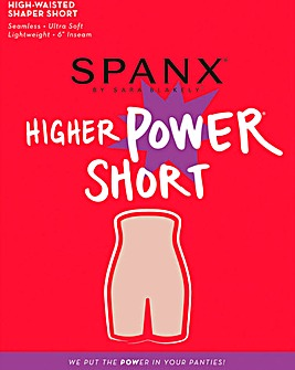 Spanx Higher Power Black Shorts