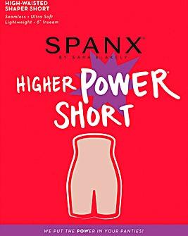 Spanx High Power Black Shorts