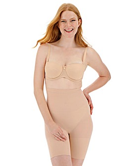 Spanx Higher Power Soft Nude Shorts