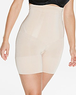 Spanx Oncore High Waist Mid-Thigh Nude Shorts