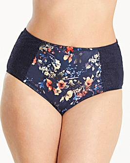 Sculptresse Chi Chi Navy Floral Briefs