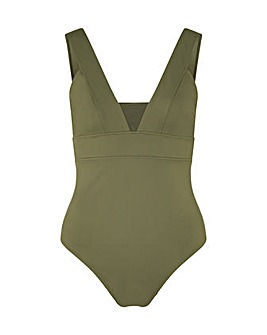 Accessorize Lexi Plunge Shaping Swimsuit