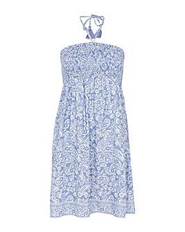 Accessorize Paisley Bandeau Dress