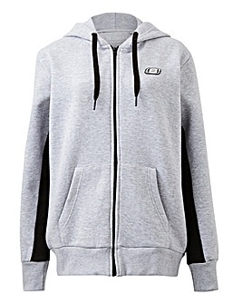 Skechers Luna Fleece Zip Through Hoody