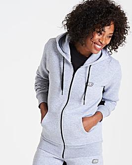 Skechers Luna Fleece Zip Through Hoody