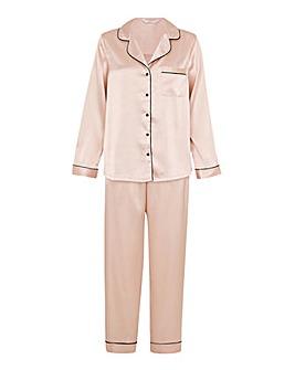Accessorize Satin Full Length Pyjama Set