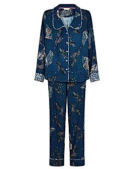 Monsoon Feather Print Pyjama Set