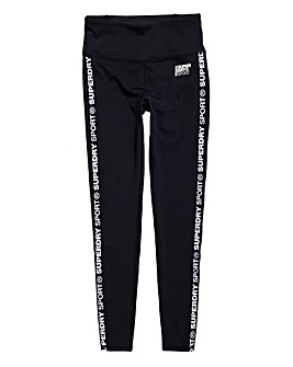 Superdry Core Crop Branded Legging