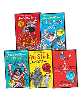 David Walliams Collection 5 Books