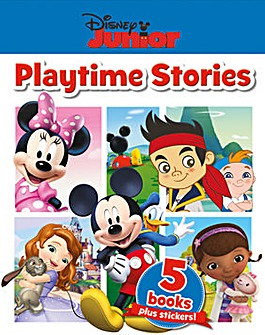 Disney Junior Playtime Stories 5 Books