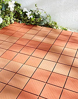Pack of Twelve Easy-To-Install Tiles