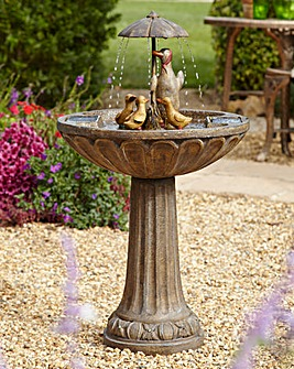 Smart Garden Solar Duck Fountain