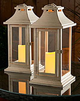 Smart Garden Dorset Lantern Pack of 2