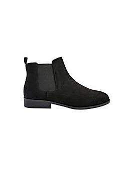 Suedette Chelsea Boots