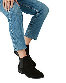 Accessorize Suedette Chelsea Boots