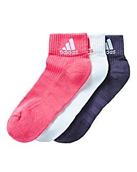 Adidas 3 Pack Socks