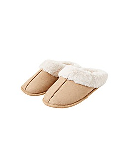 Suedette Mule Slippers