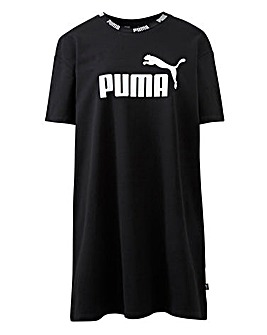 Puma Ladies Black Amplified Tape Dress