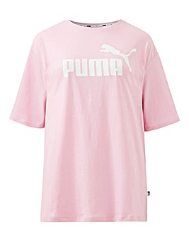 Puma Ladies Pink Essential T-Shirt