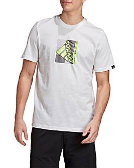 adidas Retro Media Case T-Shirt