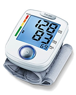 Easy to Use Wrist Blood Pressure Monitor