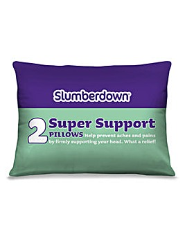 Slumberdown Super Support Pillow Pair