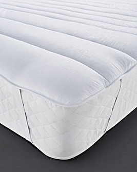 Anti-Dustmite Quilted Mattress Topper