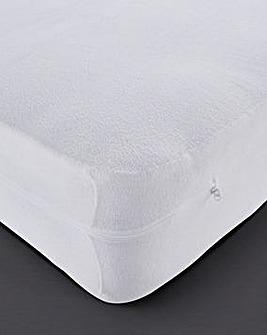 Plain Dyed Fully Enclosed Mattress Cover
