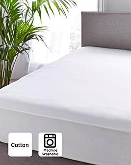 Brushed Cotton Soft Waterproof Mattress Protector