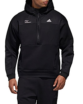 adidas Tech Double Knit Pullover Hoodie